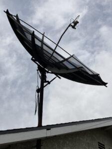 Large Satellite Dish Removal Pic 3