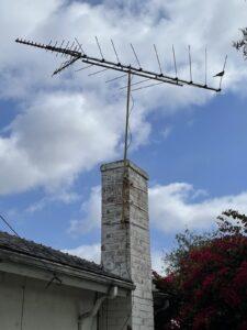 TV Antenna Close Up